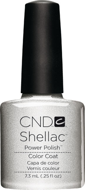 SHELLAC™  - UV COLOR  - SILVER CHROME 0.25oz (7,3ml)