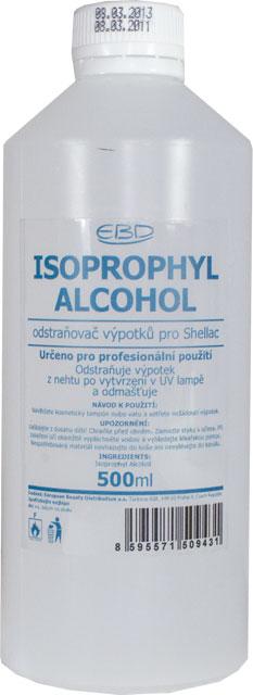 ISOPROPHYL ALCOHOL 1l - odstraňovač výpotků pro SHELLAC