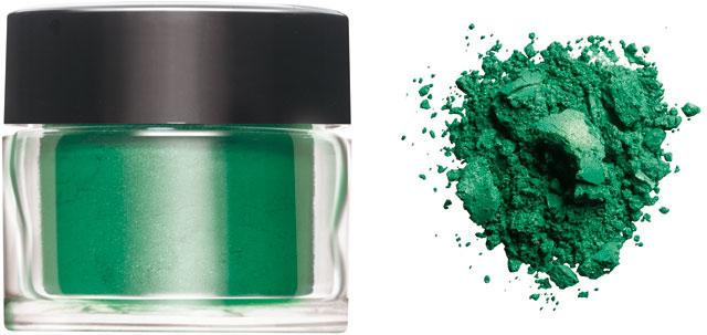 CND ADITIVA - Medium Green - 0.12oz (3.50g) STŘEDNĚ ZELENÁ pigment pro NailArt