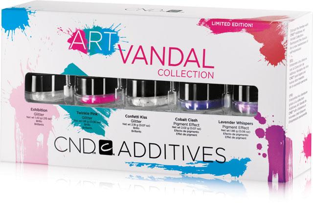 CND ADITIVA ART VANDAL - limitovaná edice JARO 2016 - 5ks pigmentových efektů