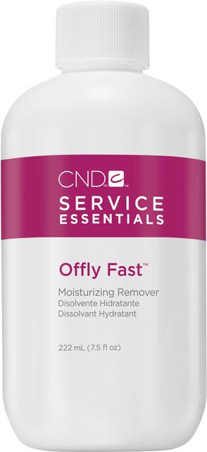 CND OFFLY FAST MOISTURIZING REMOVER 7.5oz(222ml)- hydratační odstraňovač Shellac,Vinylux,Creative P.
