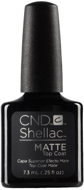 CND™ SHELLAC™ - MATTE TOP COAT - matná vrchní vrstva 0.25oz (7,3ml)