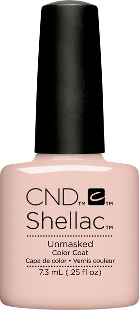 SHELLAC™  - UV COLOR  - UNMASKED 0.25oz (7,3ml)