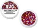 Spalvotas gelis - 324 - CELEBRATION GLITTER - spalvota blizganti, 5g