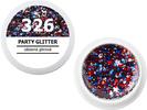 Spalvotas gelis - 326 - PARTY GLITTER - stebinanti blizganti, 5g